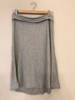 Heather Grey Skirt by Promesa