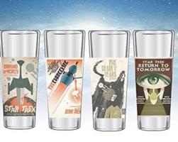 Star Trek Original Series Shot Glasses Set 17