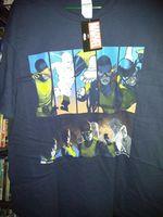 Exclusive X-Men Classic Lineup T-Shirt Marvel Comic Block Cyclops Iceman