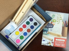 Doodle Crate Watercolor Calendar Kit