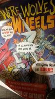 WEREWOLVES ON WHEELS Comic Book Cover Box Of Dread Exclusive POSTER 11 X 17