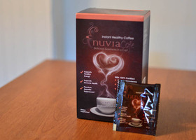 Nuvia Instant Healthy Coffee 2 sample packets