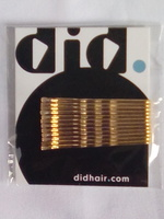 DID HAIR Gold Bobby Pins Pack Of 12