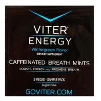 Viter Energy Caffeinated Breath Mints