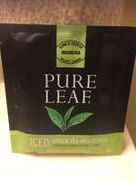 Pure leaf green tea with citrus cold brew bag