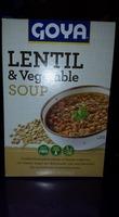 Goya Lentil & Vegetable Soup