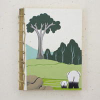 Mr. Ellie Pooh's Elephant Dung Paper Notebook