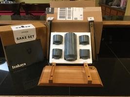 SPARQ home- The Original Soapstone Sake Set