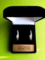 Touch of Sparkle Cubic Zirconia Earrings