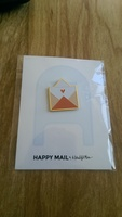 Happy Mail Pin