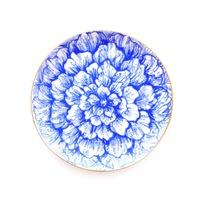 Blue & White Floral Jewelry Dish from Sweet & Spark