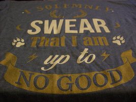 "Harry Potter 'I solemnly swear I am up to no good"" tshirt"