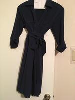 41Hawthorn Navy Wrap Dress-Large
