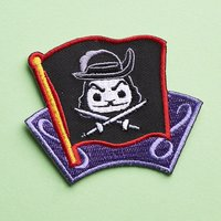 Disney Treasures Captain Hook patch