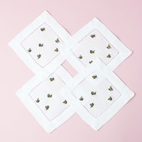 Mostess Spring Cocktail Napkins - Bees