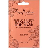 Shea Moisture coconut and hibiscus radiance mud mask
