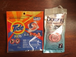Tide Pods & Downy Fresh Protect