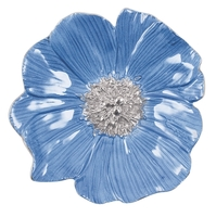 Mariposa Blue Peony Trinket Dish