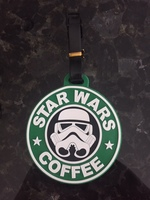 Star Wars Rubber Luggage Tag