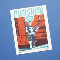 Autographed Punisher Art Print