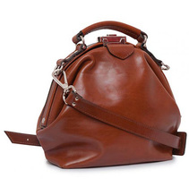 Mutsaers Galore Cognac Leather Purse