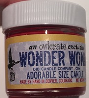 Wonder Woman candle by Dio Candle Company
