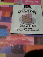 Project 7 Birthday Cake Gourmet Gum