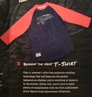 Detroit Tigers 3/4 Sleeve T-Shirt