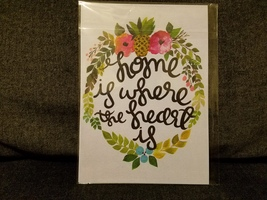 Home is Where The Heart Is 5x7 Print