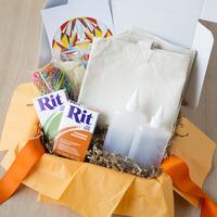 Whimseybox DIY Dyed Tote Bag Kit