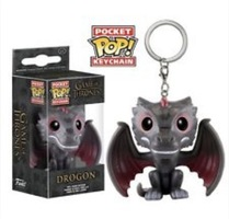 Game Of Thrones Dragon Pocket Pop Keychain