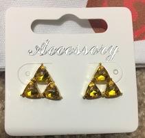 Zelda The Triforce earrings