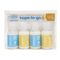 Soapbox -- Hope To Go Travel Kit With Argan Product's