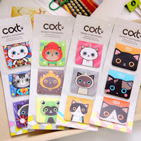 Neko Magnetic Bookmarks
