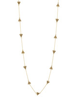 House of Harlow Torre Pyramids Necklace - Gold