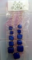 Modcloth Jet Blue Necklace