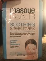 Masque Bar Soothing Sheet Mask