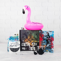 Blowup swan drink holder tub sized