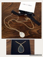 """Charlotte """"Ethereal"""" Dual sided Necklace"""