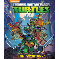 TMNT Box June 2017 Nickelodeon TEENAGE MUTANT NINJA TURTLES Pop-Up Book Hawcock