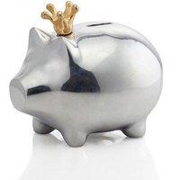 Lunares Silver Piggy Bank