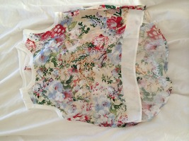 Sweewe Floral Top (White)