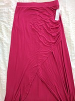 Loveappella Raspberry Maxi Skirt ~ Size small
