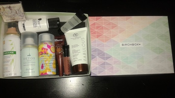 Entire June 2017 Birchbox (Intro box of new sub)
