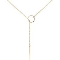 Stash Selection Lariat Necklace