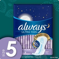 Always Ultra Thin Pads Size 5