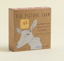 Big Picture Farm Goat Milk Caramels in Sea Salt & Vanilla