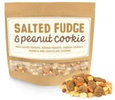 Graze Salted Fudge & Peanut Cookie