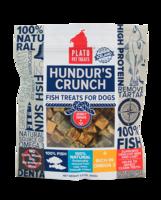 plato hundru's crunch fish jerky minis