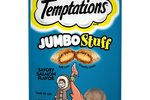 Temptations Jumbo Stuff Savory Salmon Treats